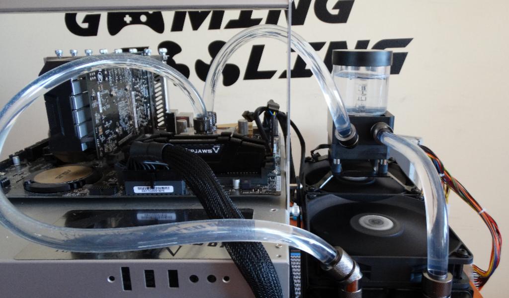 #1 CPU blokk teszt Copper vs. Nickel