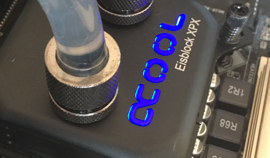#2 CPU blokk teszt Alphacool Eisblock XPX