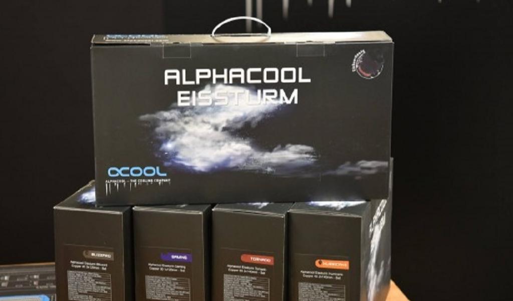 Bemutkozik az Alphacool Eissturm Tornado és Blizzard