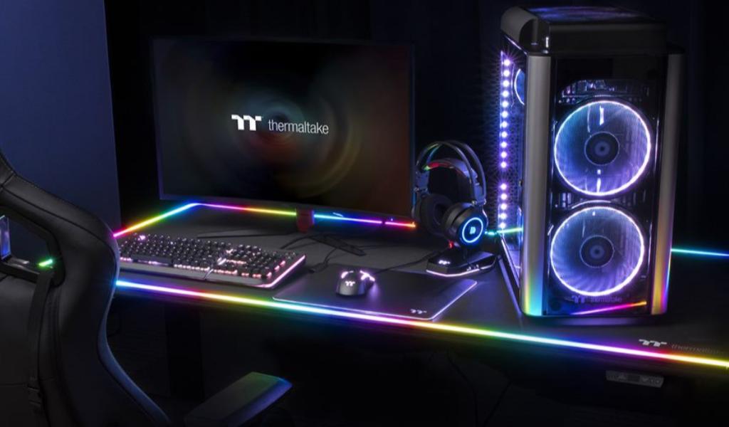 Thermaltake Level 20 RGB BattleStation Gaming Desk