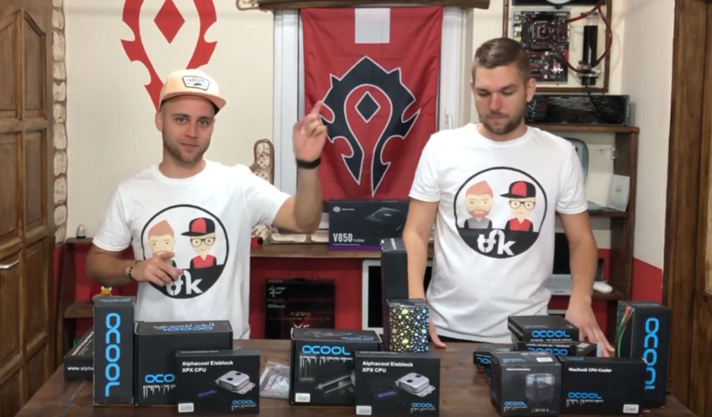 Alphacool Eissturm Gaming - Hurrican - Blizzard bemutató