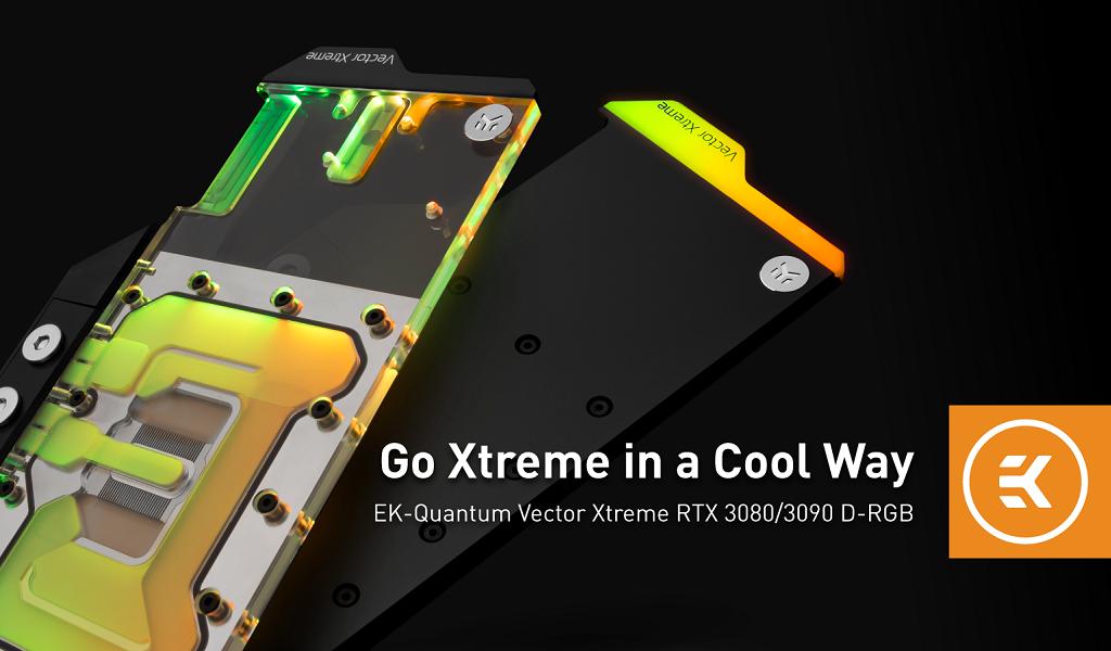 Quantum Vector Xtreme RTX 3080/3090 D-RGB prémium blokkok