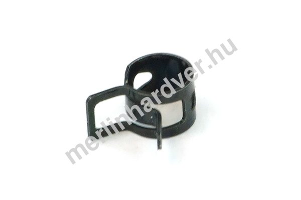 Tömlőbilincs rugós 10-12mm - fekete