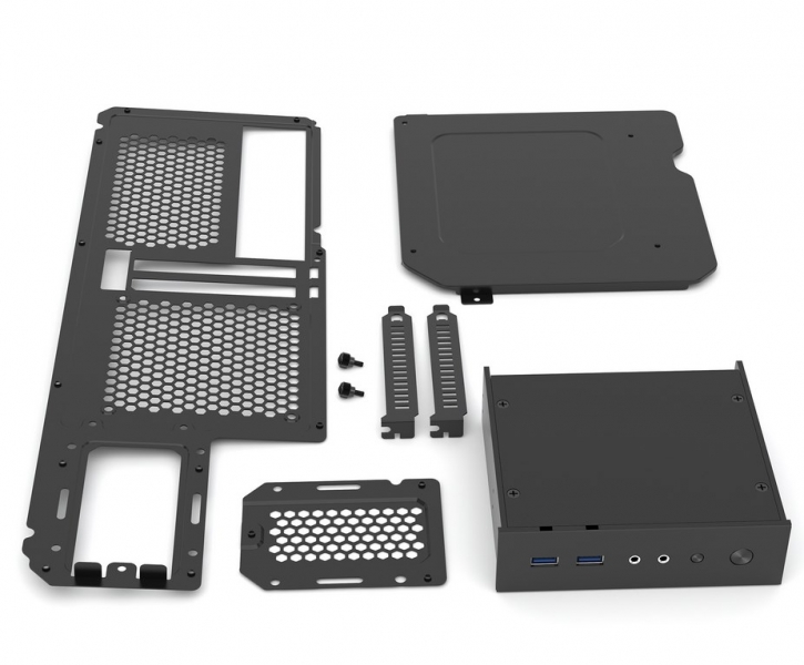 Phanteks Enthoo Mini XL Upgrade Kit 2. mITX board