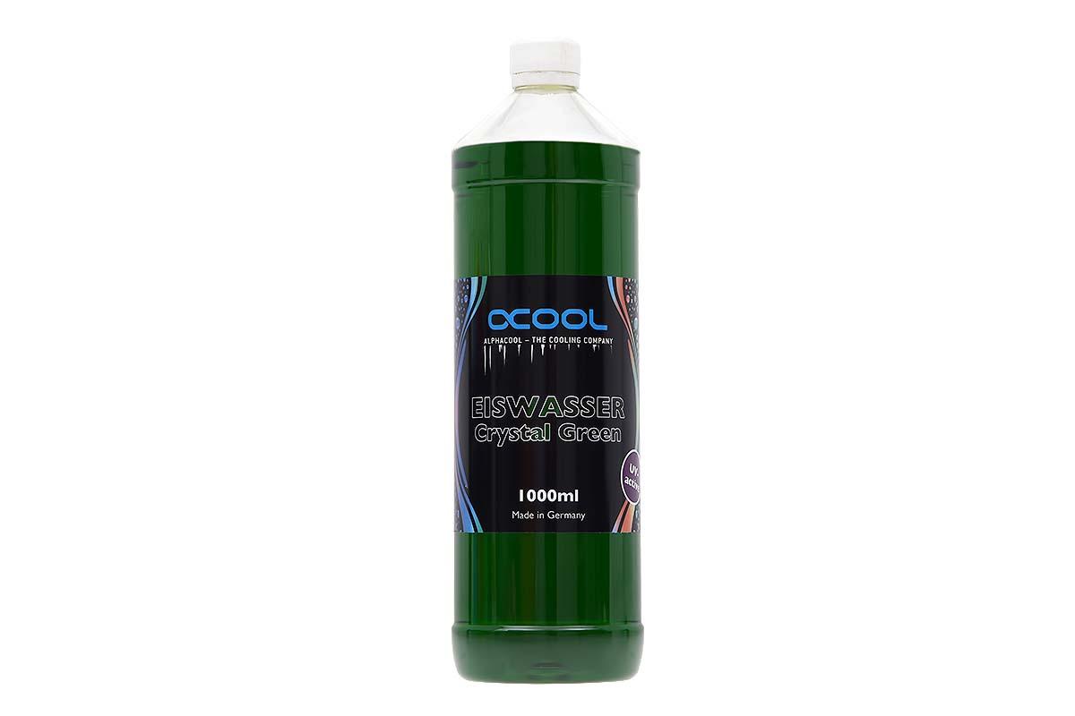 Alphacool Eiswasser Crystal Green UV-aktiv 1000ml