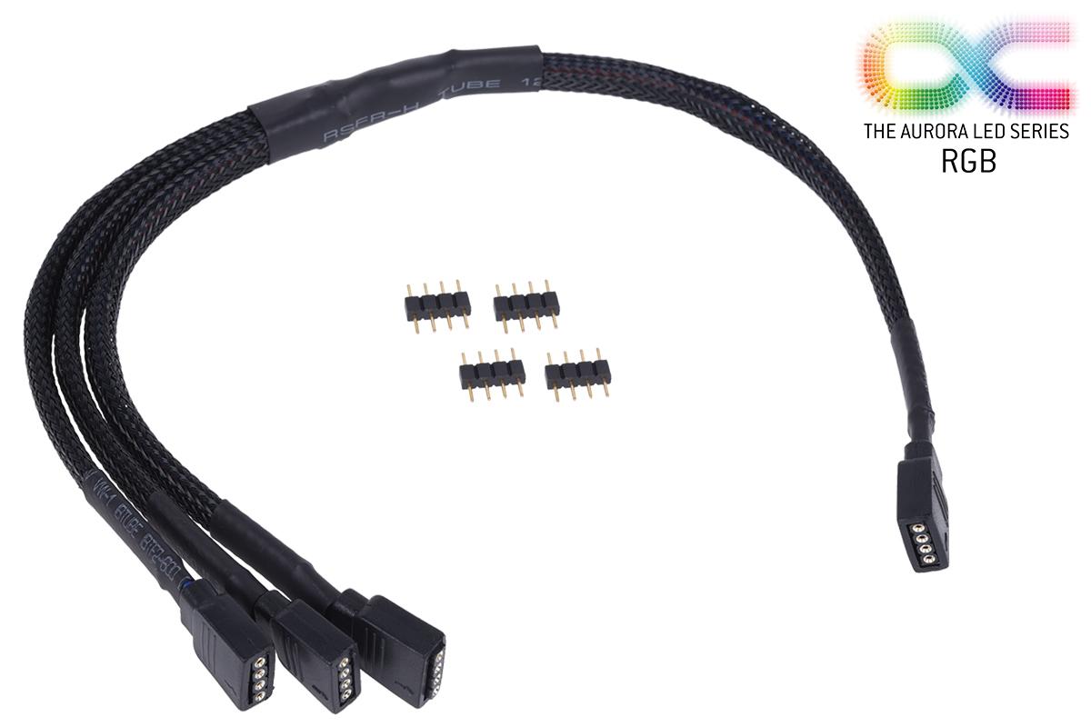 Alphacool Y RGB kábel 4 pólusú 30cm /18538/