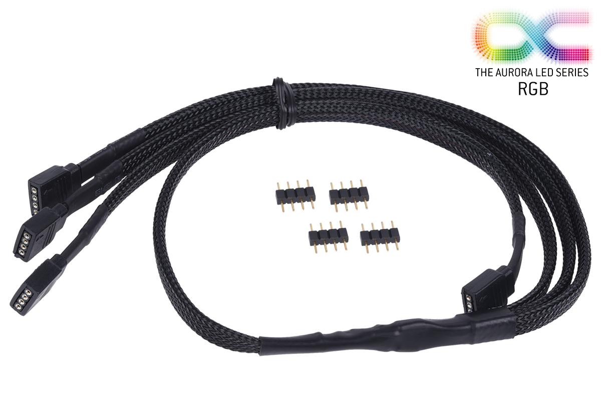 Alphacool Y RGB kábel 4 pólusú 60cm /18539/