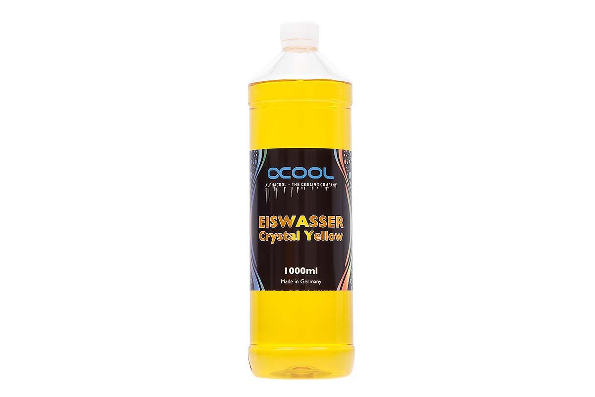 Alphacool Eiswasser Crystal Yellow 1000ml /18546/