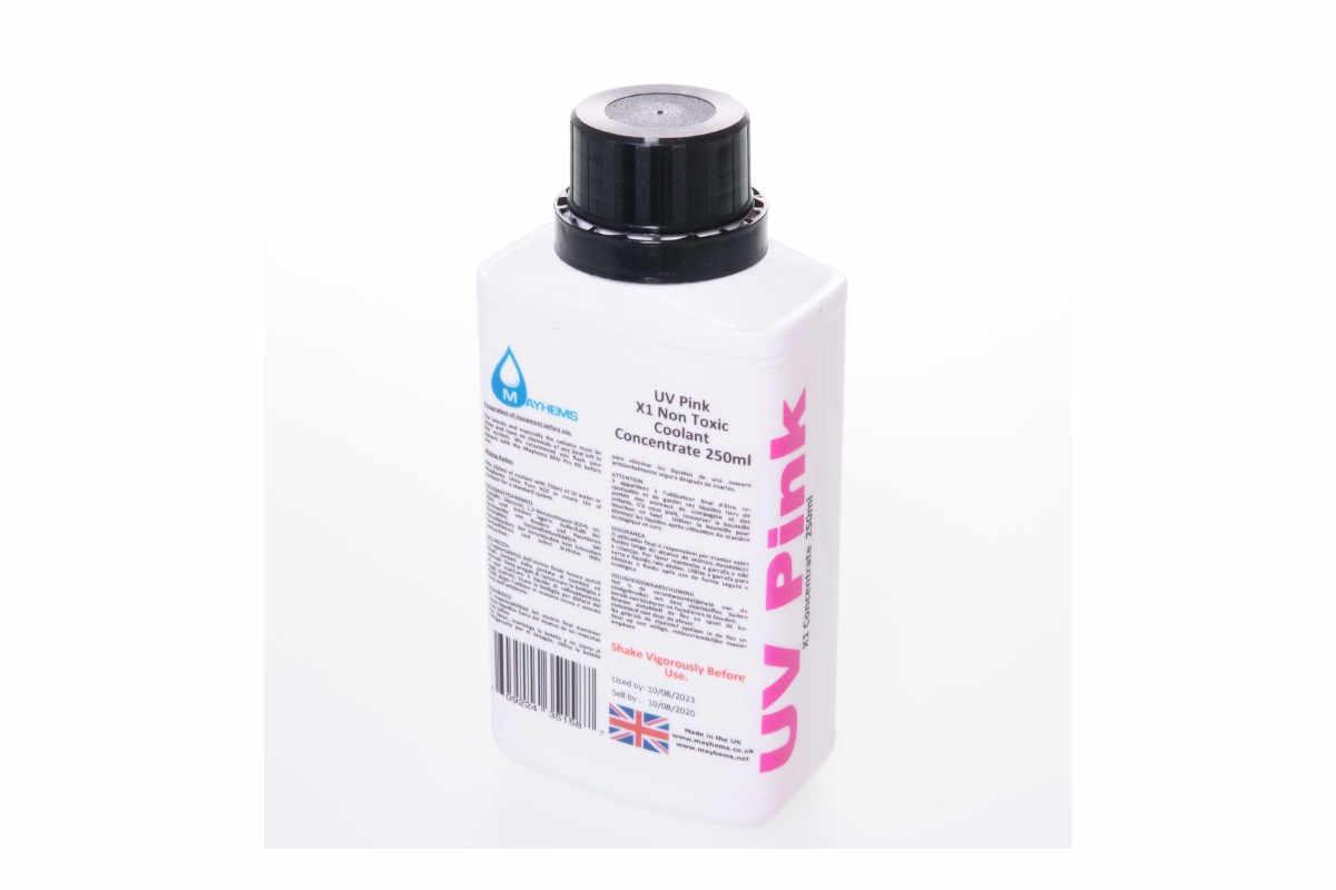 Mayhems X1 koncentrátum UV rózsaszín 250ml