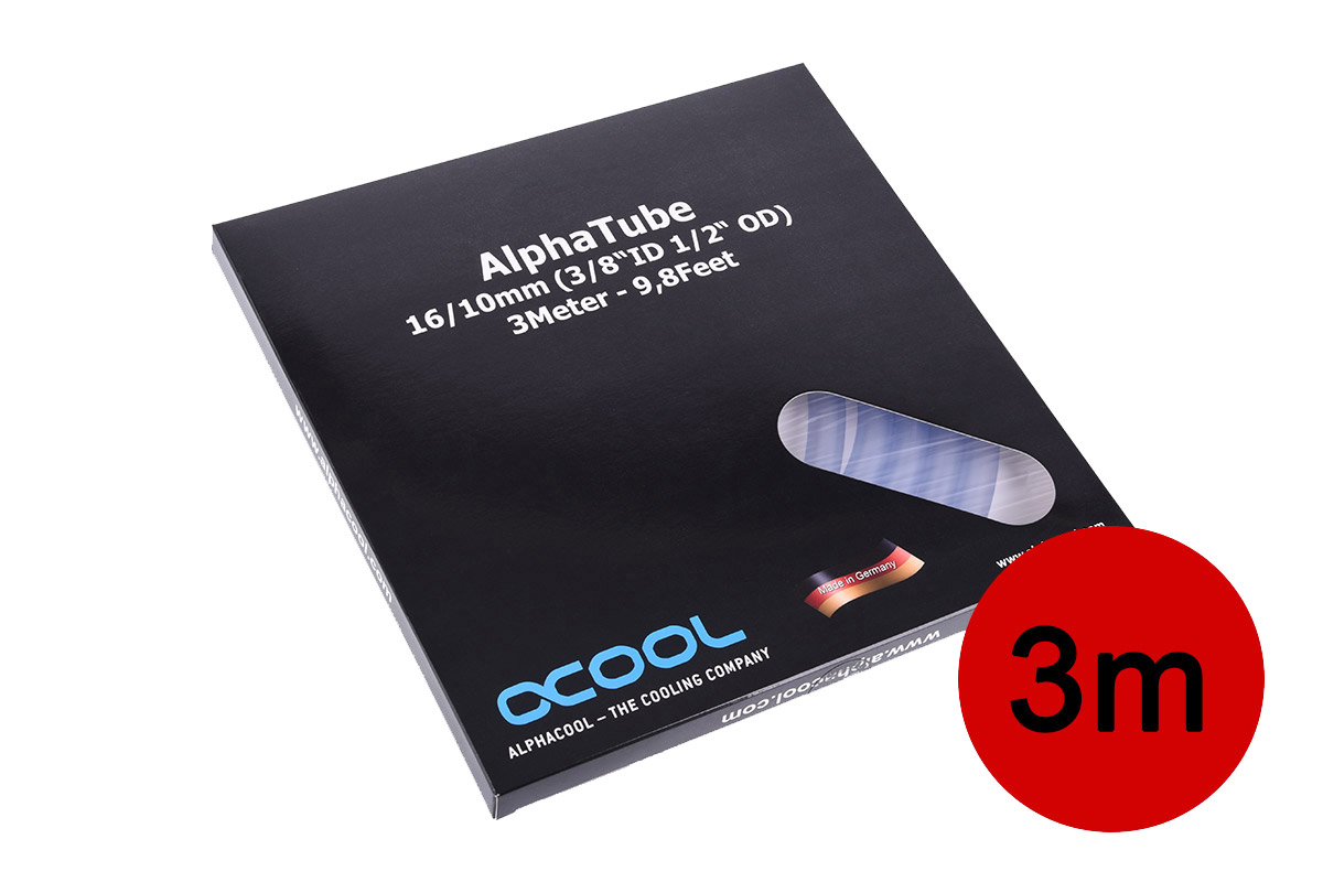 Alphacool tömlő AlphaTube HF 16/10 (3/8