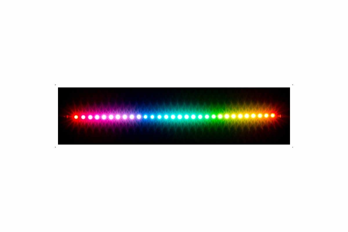 Aquacomputer RGBpx LED szalag 27,3 cm, szélessége 5 mm, 30 LED /53270/