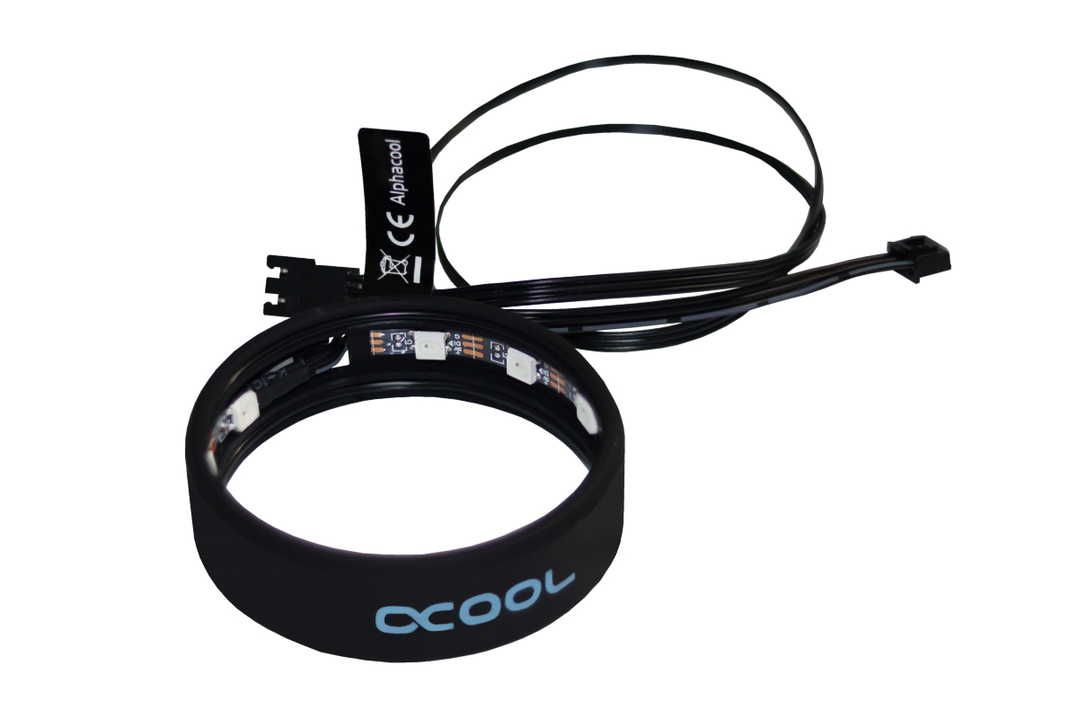 Alphacool Aurora LED Ring 60mm - Digital RGB /15363/