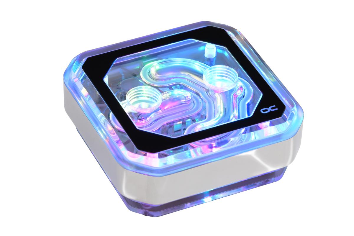 Alphacool Eisblock XPX Aurora - Plexi Chrome Digital RGB /12947/