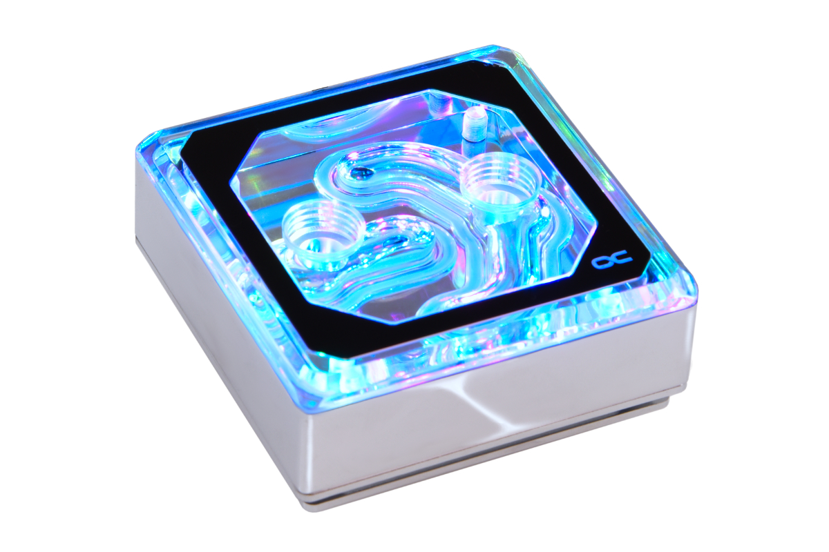 Alphacool Eisblock XPX Aurora Edge - Plexi Chrome Digital RGB /12949/