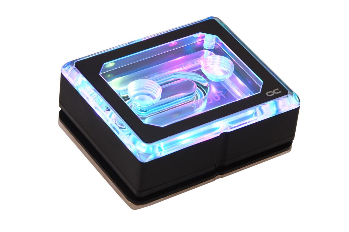 Alphacool Eisblock XPX Aurora PRO - Plexi Black Digital RGB /12950/