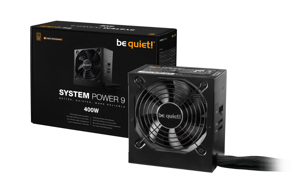 be quiet! System Power 9 400W CM /BN300/