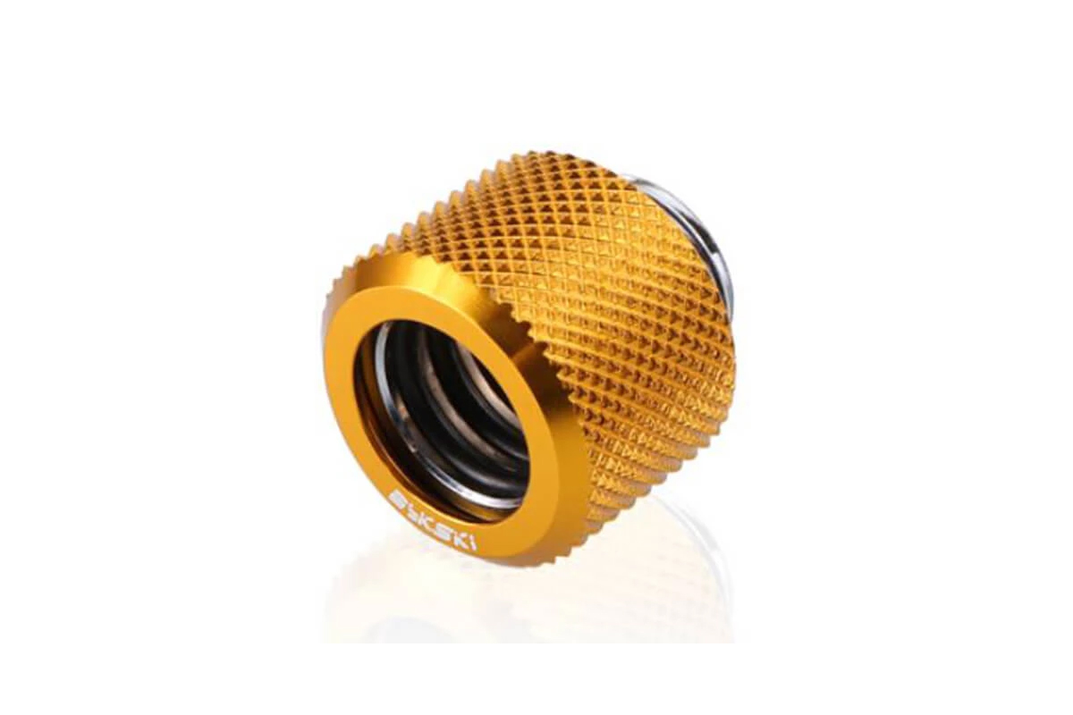 Bykski B-FTHTJ-L12 HardTube Anti-Off 12mm OD - Gold /B-FTHTJ-L12 gold/