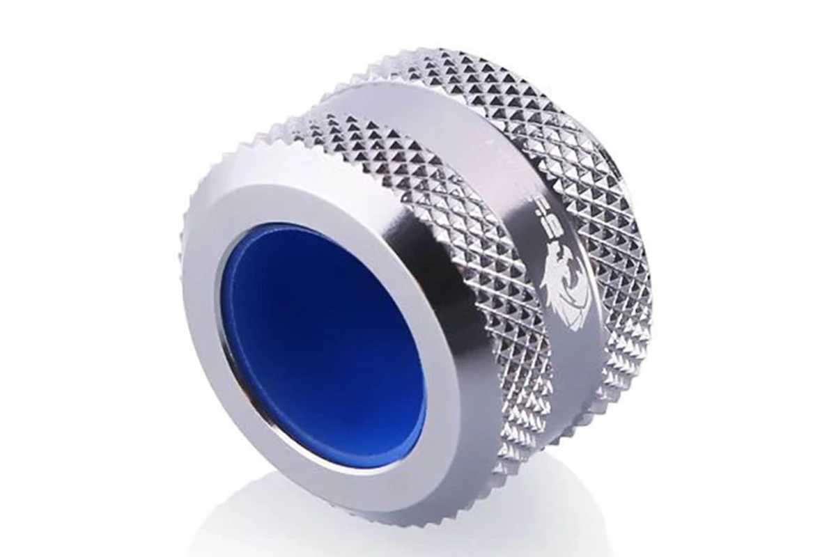 Bykski B-FTHTJ-L14 HardTube Anti-Off 14mm OD - Silver /B-FTHTJ-L14 silver