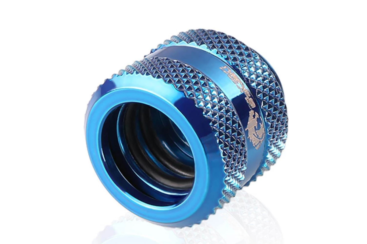 Bykski B-HTJV2-L12-BLU HardTube 12mm fitting V2 - Blue /B-HTJV2-L12-BLU/