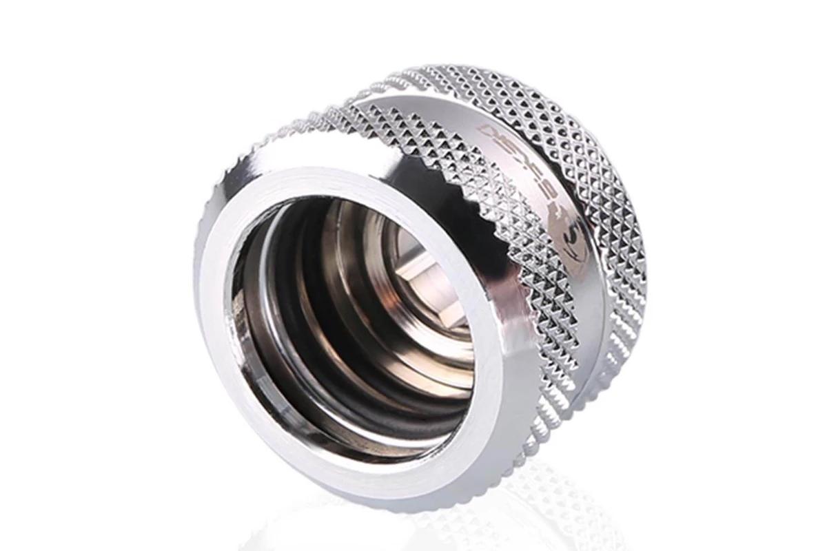 Bykski B-HTJV2-L16 HardTube 16mm V2 - Silver /B-HTJV2-L16 silver/