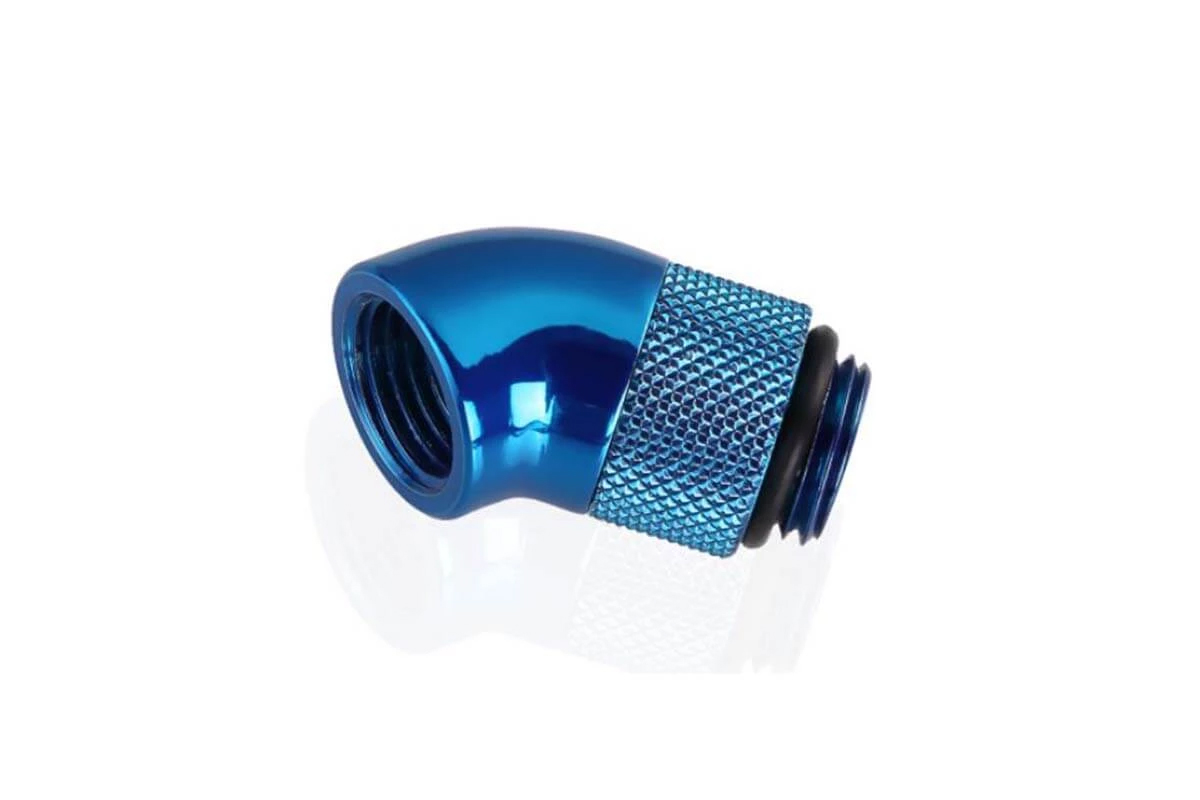 Bykski B-RD45-X 45° G1/4 forgatható adapter - Blue /B-RD45-X-BLU/