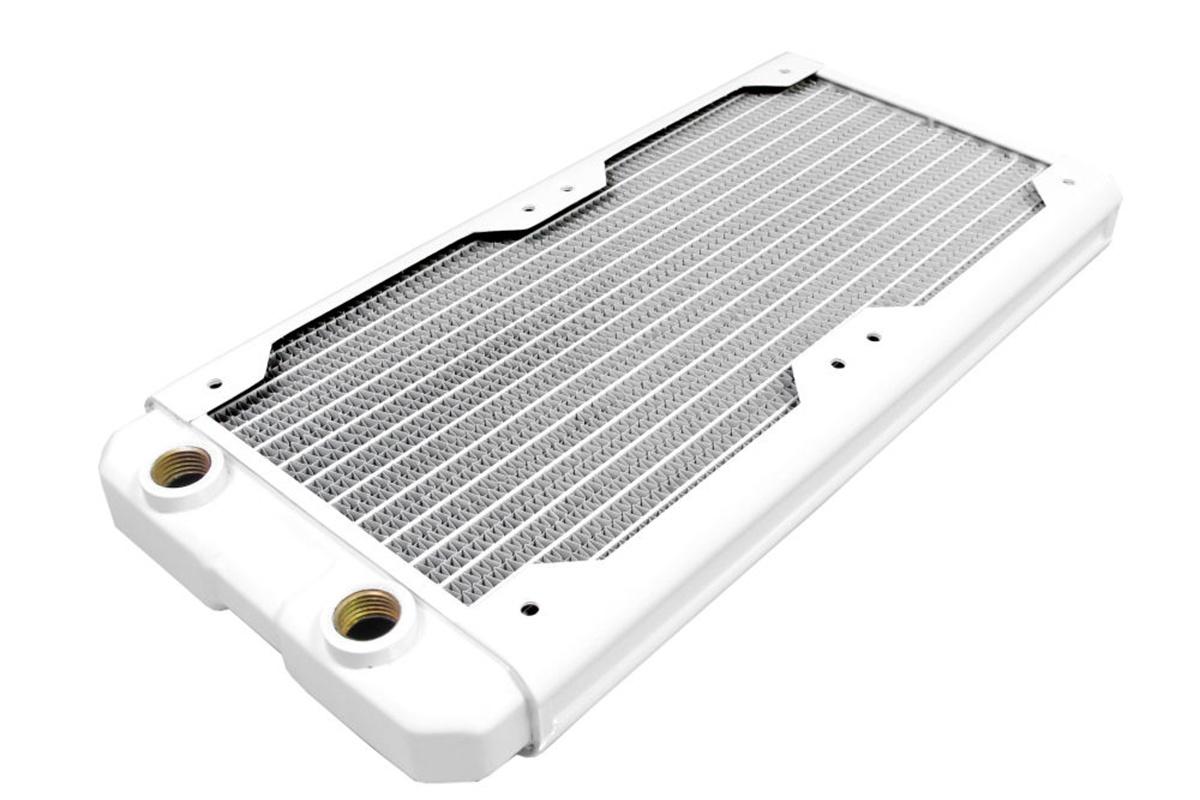 Hardware Labs - Black Ice Nemesis Radiator GTS 240 - Satin White /Nemesis 240GTS-WH/