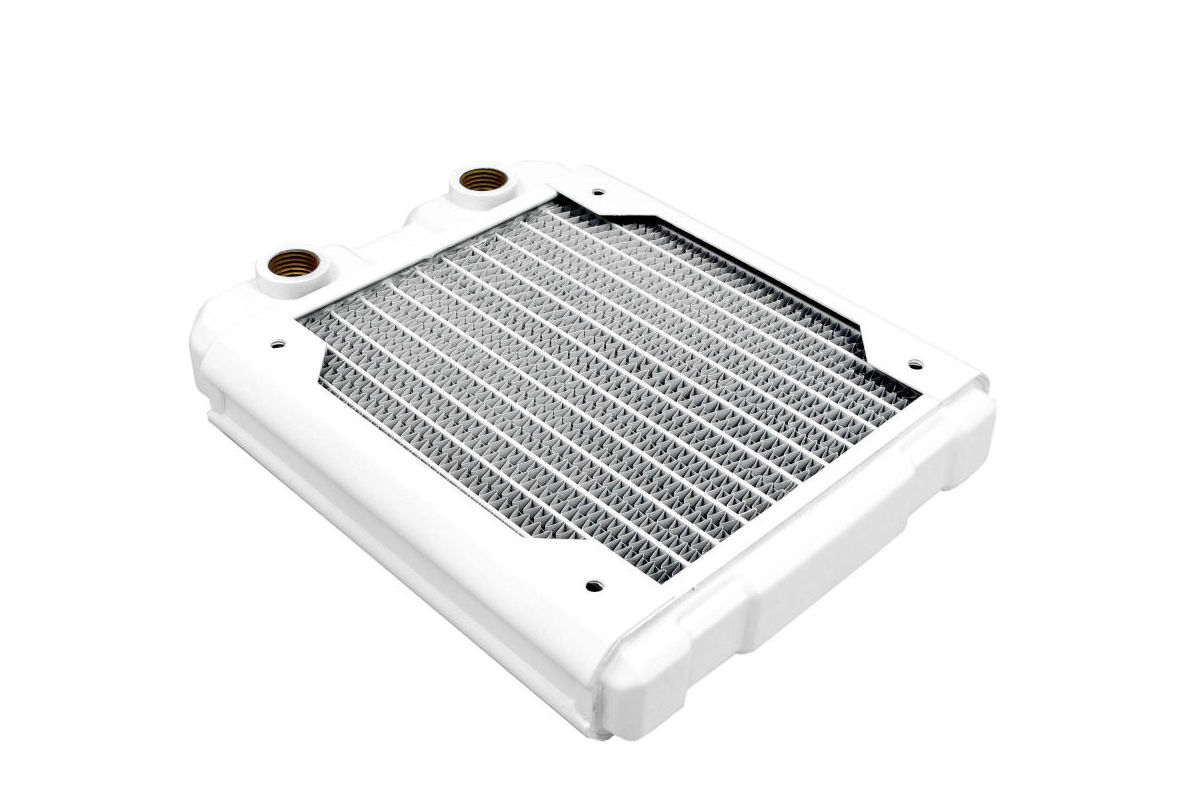 Hardware Labs - Black Ice Nemesis Radiator GTS 140 - Satin White /Nemesis 140GTS-WH/