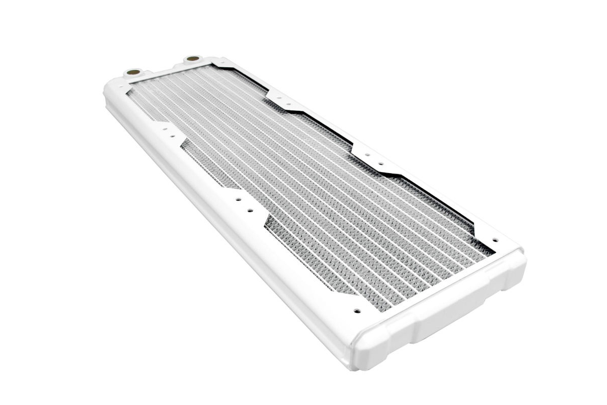 Hardware Labs - Black Ice Nemesis Radiator GTS 420 - Satin White /Nemesis 420GTS-WH/