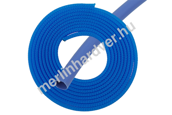 Phobya Simple Sleeve Kit 3mm UV Kék - 2m, Heatshrink 30cm