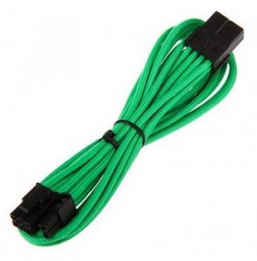 Bitfenix 6+2-Pin PCIe hosszabbító 45cm - zöld / fekete