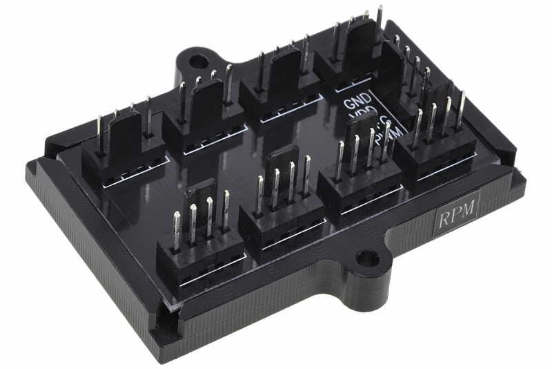 Phobya 4Pin PWM 8x 4Pin Splitter