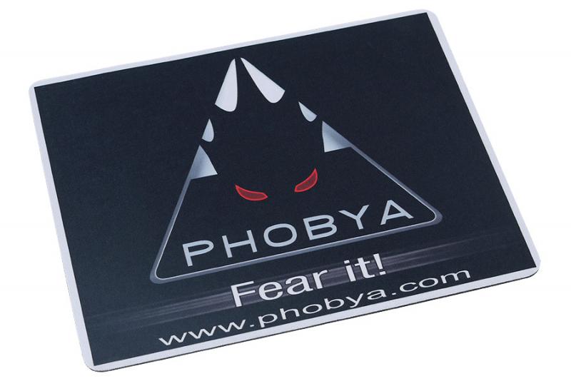 Phobya egérpad fekete