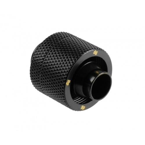 Bitspower Csatlakozó G1/4, 16/10 mm - matt fekete