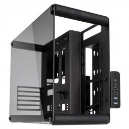 Raijintek PAEAN M Micro-ATX Benchtable / Showcase - fekete Window (0R200068)