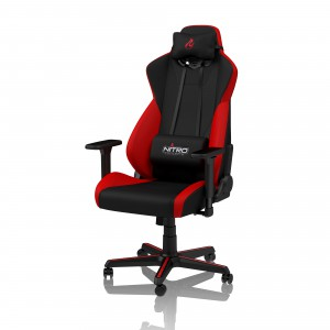 Nitro Concepts S300 Gaming szék - Inferno Red (NC-S300-BR)