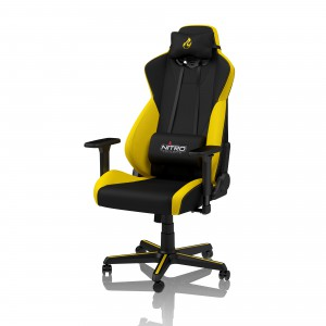 Nitro Concepts S300 Gaming szék - Astral Yellow (NC-S300-BY)