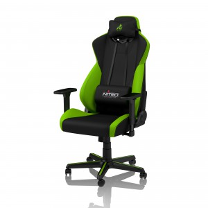 Nitro Concepts S300 Gaming szék - Atomic Green (NC-S300-BG)
