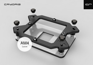 Cryorig AM4-Kit - Type A  - H5, C1, M9a (SP-AM4A)