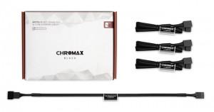 Noctua NA-SEC1 chromax. Fekete ventillátor hosszabbító kábel - fekete (NA-SEC1.black)
