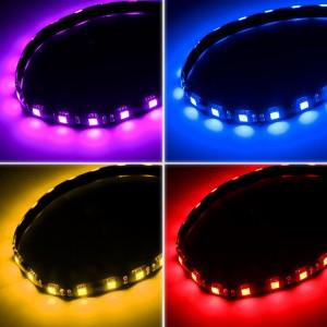 BitFenix Alchemy 2.0 Mágneses RGB LED szalag - 60cm, 30 LED + kontroller (BFA-RGB-60MK30C-RP)
