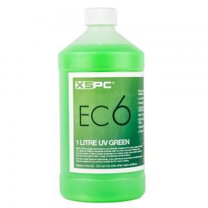 XSPC EC6 Coolant 1 Liter - UV zöld (5060175582782)
