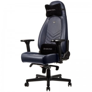 Gamer szék Noblechairs ICON Bõr Éjkék/Grafit