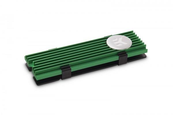 EKWB EK-M.2 NVMe Heatsink - zöld (3830046994752)