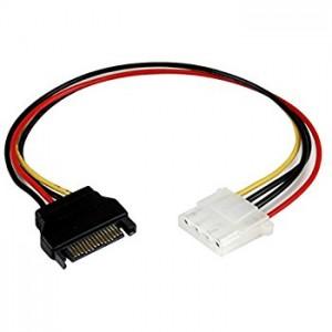 Kolink Táp Átalakító SATA PWR (Male) - Molex (Female) kábel /CABLE-277/