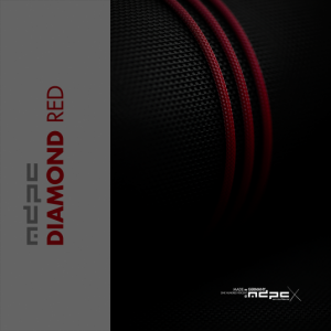 MDPC-X Sleeve XTC - Diamond-Red, 1m Piros (SL-XTC-DR)