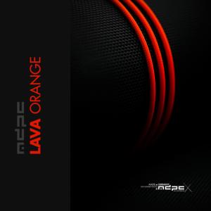 MDPC-X Sleeve XTC - Lava-Orange, 1m - Narancs (SL-XTC-OR)