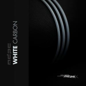 MDPC-X Sleeve XTC - White-Carbon PXW, 1m Fehér (SL-XTC-PXW)