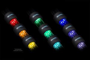 Alphacool Aurora HardTube LED gyűrű 16mm Fekete - RGB