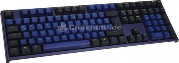 Ducky ONE 2 Horizon PBT Gamer Billentyűzet, MX-Brown - Kék