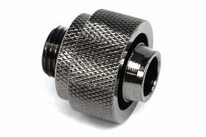 Aquatuning 19/13mm G1/4 csatlakozó - fekete nikkel